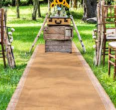 Aisle Runner Wedding Burlap Aisle Runner Burlap Wedding Aisle Runner