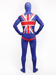 Flag Suit Lycra Full Body Australia Flag Zentai Suit Selling Australia