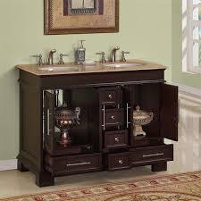 48 single sink bathroom vanity 48 perfecta pa 153 double sink cabinet bathroom vanity hyp awesome 5