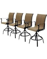 Stackable Aluminum Patio Chairs by Autumn Special Allen Roth Safford Brown Aluminum Patio Barstool