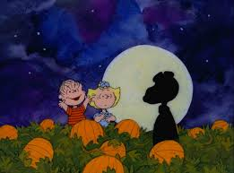 halloween background snoopy and sally mistake snoopy for the great pumpkin