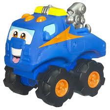 amazon com playskool cushy cruisers handy the tow truck toys