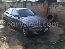 altezza car black buy used toyota altezza black car in lusaka in zambia caryandi
