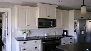 white cabinets with black countertops and backsplash kitchen backsplash ideas white cabinets black countertops