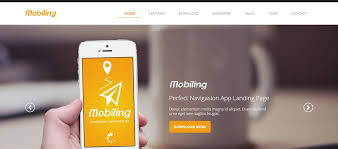 adobe muse mobile templates 20 best muse landing page templates