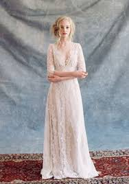 designer brautkleider boho chic designer brautkleider spitze mit v ausschnitt wedding