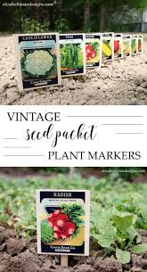 vintage seed packets vintage seed packet plant markers domestically speaking