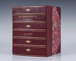 chronicles narnia lewis edition rare book
