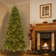 feel real fir lit slim tree 6 5 free shipping today