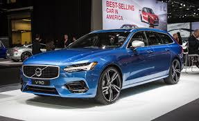 blue station wagon 2018 volvo v90 wagon looks in r design form u2013 news u2013 car and