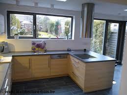 cuisine en coin annexe en bois cuisine et coin repas architecture bois