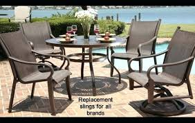 Florida Outdoor Furniture by Chaise Lounge Patio Chaise Lounge Replacement Slings For The