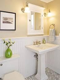 beadboard bathroom ideas baños friso pintura casa nueva vida nueva