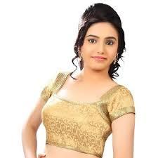 golden blouse designer golden brocade blouse material buy designer golden