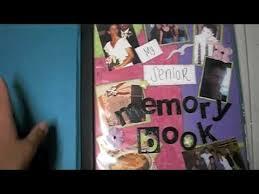 senior memory book my senior memory scrapbook