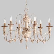 gustavian style white chandelier veranda magazine chandeliers