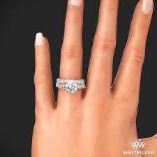 diamond wedding sets flush fit diamond wedding set 1768