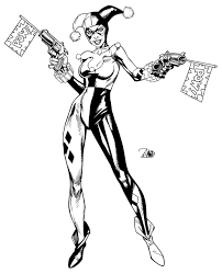 harley quinn dc comics by randy green by newerastudios on deviantart