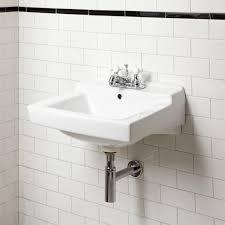 American Standard Bathroom Vanity by Bathroom American Standard Wall Hung Sinks In White For Bathroom