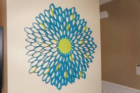 toilet paper roll flower so pretty in paint
