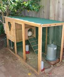 6 u0027x16 u0027 penthouse chicken coop by carolina coops with a natural oil