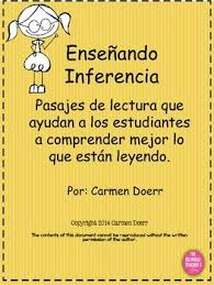 inference passages in spanish by the bilingual teacher store tpt