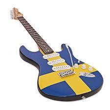 Sweedish Flag La Electric Guitar Complete Pack Swedish Flag At Gear4music Com