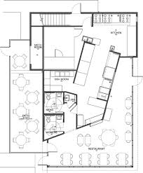 Floor Layouts Interior Restaurant Floor Plan In Awesome Kitchen Restaurant