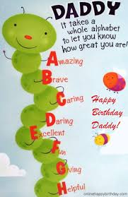 fantastic image of daddy birthday wishing card nicewishes
