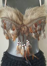 Native American Inspired Clothing Native American Inspired Decorative Bra Indian Themed