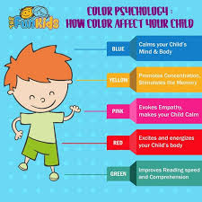 color psychology the effect of color on your child visual ly