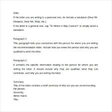 best solutions of format for a reference letter example in cover