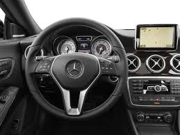 mercedes dashboard 2017 2016 mercedes benz cla class price trims options specs photos