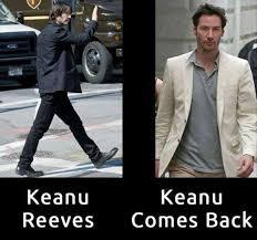 Keanu Reeves Meme - keanu reeves keanu comes back memes and comics