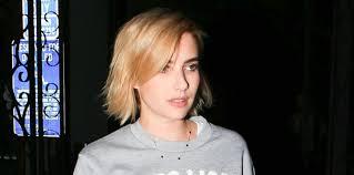 emma roberts blonde new hair cut photos