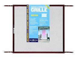 through the glass dog doors adfors screen u0026 storm door grille 24