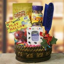 per gift basket cat in around pet gift basket cat gift baskets