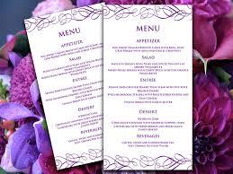 diy wedding menu cards stunning diy wedding menu cards photos styles ideas 2018