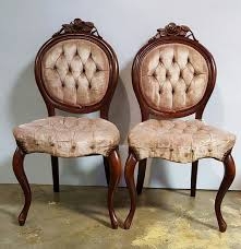 set of 6 pelham s and leckie victorian parlor chairs antiques in marietta ga offerup