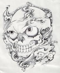 smoke and skull by smokysunset on deviantart