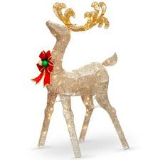 reindeer outdoor light displays you ll wayfair
