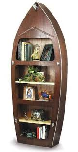 Wooden Boat Shelf Plans by 8 Foot Classic Canoe Bookcase The Boat Smith