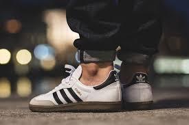 white samba adidas originals samba white black gum eu kicks sneaker