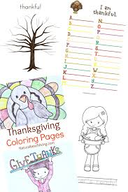 Thankful Tree Craft For Kids - 5 fun filled thankful thanksgiving printables for kids natural
