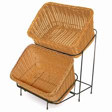 Rattan Baskets by Restaurant Bread Baskets Commercial Bread Baskets