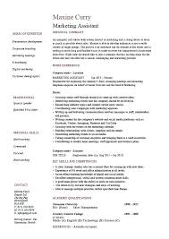 Assistant Marketing Manager Resume Sample Sample Resume For Marketing Assistant Click Here To Download This