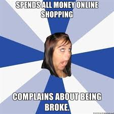 Credit Card Meme - shopping addiction and credit card debt meme online shopping an