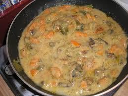 cuisiner des carottes en rondelles cuisses de poulet en sauce moutardee nourrir corps et