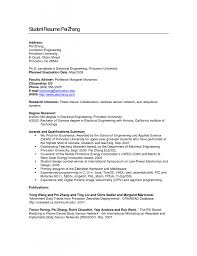 Sample Electronics Engineer Resume Resume For Computer Engineering Students Free Resume Example And