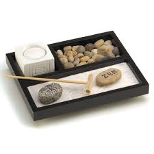 amazon com gifts u0026 decor tabletop zen sand rocks candle holder